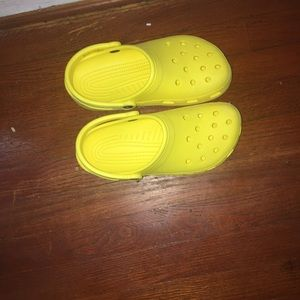 Yellow Crocs!!